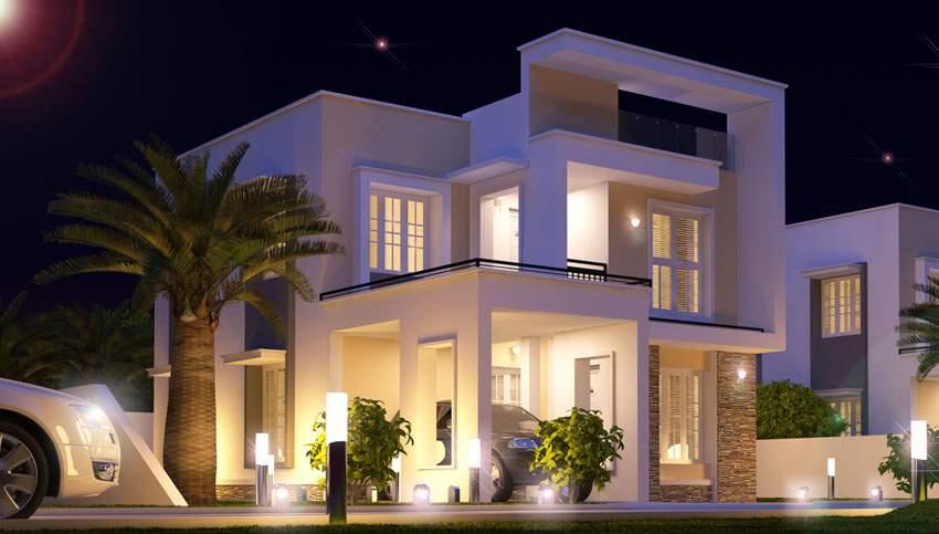 villa paint contractors